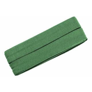 Jersey-Schrägband gefalzt kiwigrün 3m.