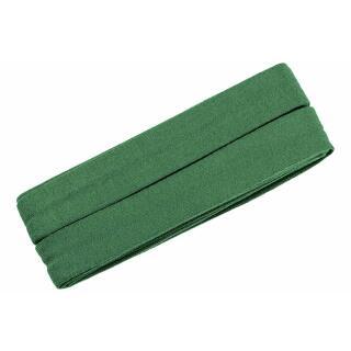 Jersey-Schrägband gefalzt grün