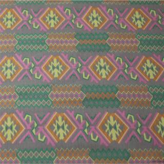Baumwolle Elasthan Ehtno Muster