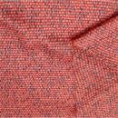 Polyester Satin orange türkis