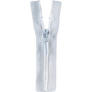 Reißverschluss / S40 Tropfen 30cm weiß  Opti
