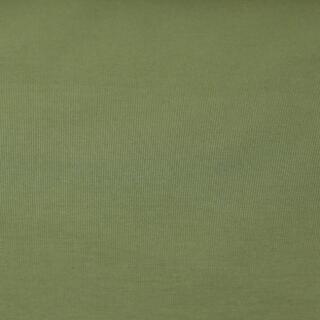 Baumwolljersey uni Khaki