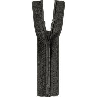 Reißverschluss / S40 Tropfen 40cm dunkelgrau Opti