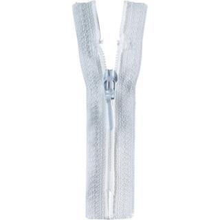 Reißverschluss / S40 Tropfen 40cm weiß Opti