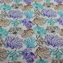 Baumwollstoff Koralle