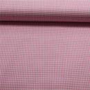 Baumwolle Vichikaro rosa weiss 0,2 cm
