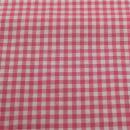 Baumwolle Vichikaro pink weiß 0,5 cm.
