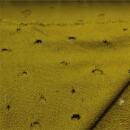 Strick mit Löcher gelb