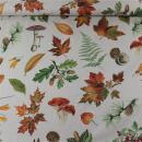 Canvas natur bunte Herbst Blätter