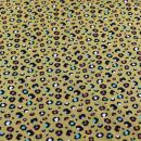 Jersey senf bunte LEO Punkte