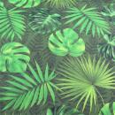 Dralon digital Palmblätter