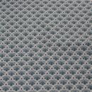 Baumwollstoff grau rosa verschiedene Muster
