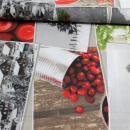 Weihnachtsstoff Canvas Digital