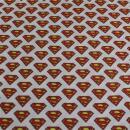 Baumwollstoff Superman
