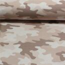 French Terry Camouflage alt rosa