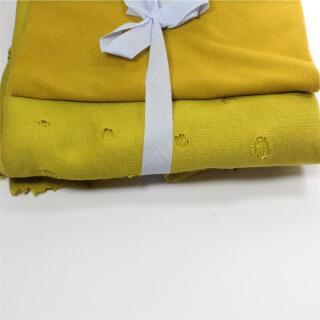Strickjersey Paket gelb