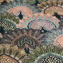 Canvas Muster  halbe Blumen