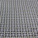 Viskose grau schwarz Muster