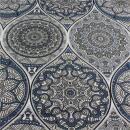 Canvas Mandala grau
