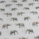 Baumwollstoff Elefanten
