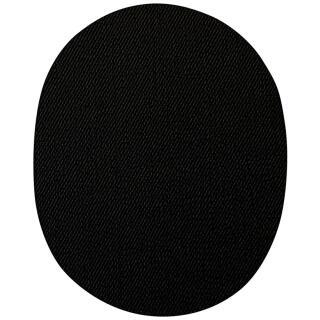 Jeans Aufbügelflecken groß schwarz 100 % Baumwolle VENO