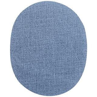 Jeans Aufbügelflecken groß babyblau 100 % Baumwolle VENO