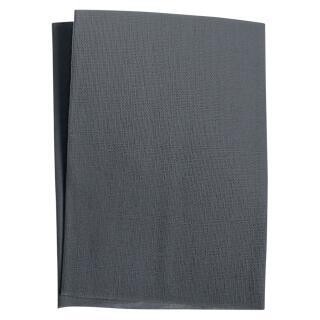 Zephir Aufbügelflecken schwarz VENO 100 % Baumwolle VENO