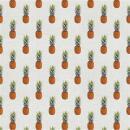 Dekostoff Canvas Ananas