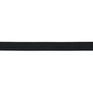 Gummiband 15 mm schwarz