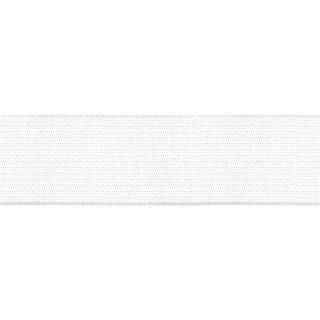 Gummiband 50 mm weiß