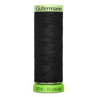 Knopflochgarn schwarz 30 m.Gütermann