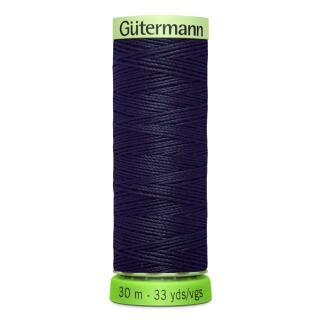 Nähfaden Knopflochgarn dunkel blau 30 m. Gütermann