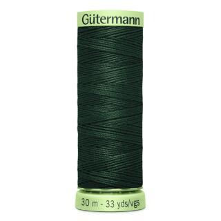 Nähfaden Knopflochgarn dunkel grün 30 m Gütermann