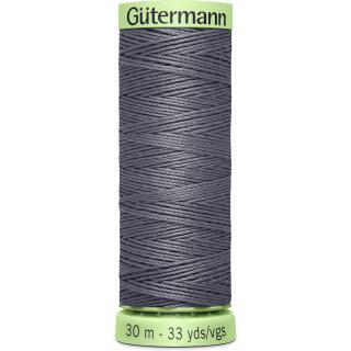 Nähfaden KnopflochgarnMausgrau 30 m Gütermann