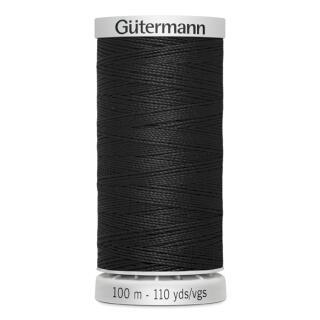 Nähgarn Extra Stark schwarz 100 m.Gütermann