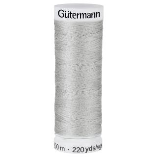 Nähfaden  hellgrau 200m   Gütermann