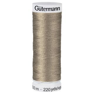 Nähfaden Haselnus 200m  100 % Polyester Gütermann