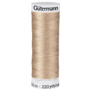 Nähfaden ised coffee 200m  100 % Polyester Gütermann