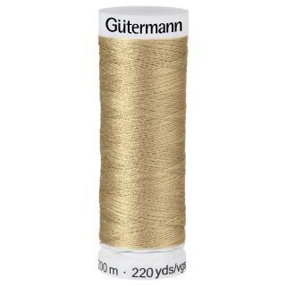 Nähfaden Sandstein 200m  100 % Polyester Gütermann