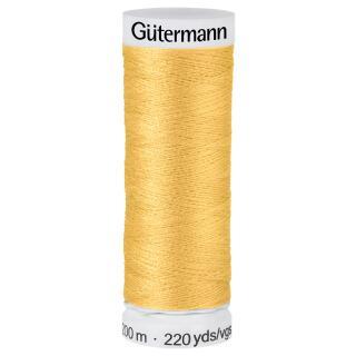 Nähfaden honiggelb 200m  100 % Polyester Gütermann