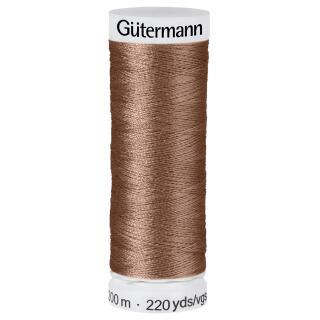 Nähfaden Mascara 200m  100 % Polyester Gütermann