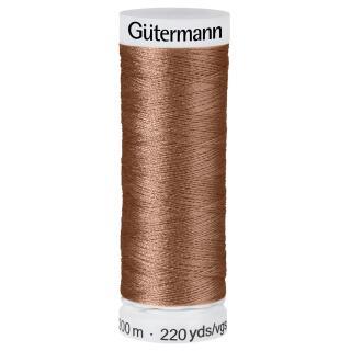 Nähfaden Caramel 200m  100 % Polyester Gütermann