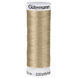 Nähfaden beige quartz 200m  100 % Polyester Gütermann