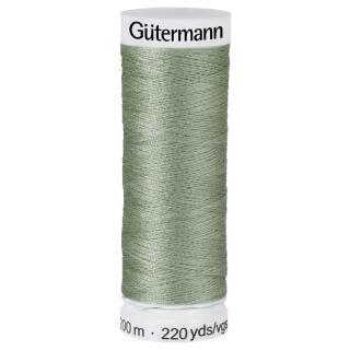 Nähfaden altgrün (821)200m  100 % Polyester Gütermann