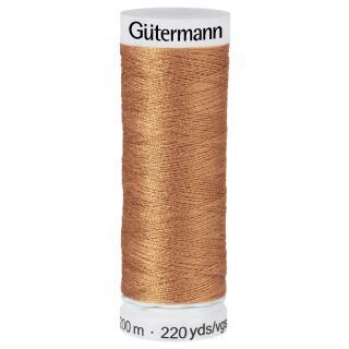 Nähfaden Lehmbraun 200m  100 % Polyester Gütermann