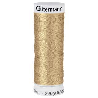 Nähfaden peanut 200m  100 % Polyester Gütermann