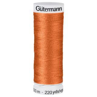 Nähfaden Zimt 200m  100 % Polyester Gütermann
