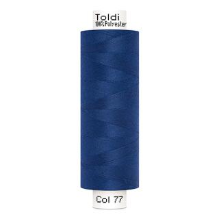 Nähfaden / Toldi royal blau 500m  100 % Polyester Gütermann