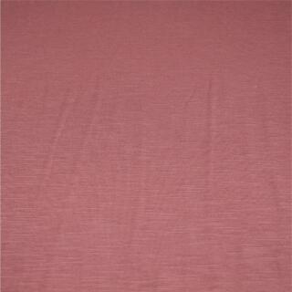 Jerseystoff doppelt gewebt grau/rosa gestreift