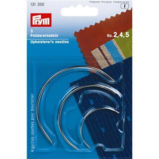 Polsterernadeln gebogen ST 2,4,5 silberfarbig  Prym